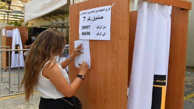 المعارضة تكتسح انتخابات نقابة المهندسين في لبنان