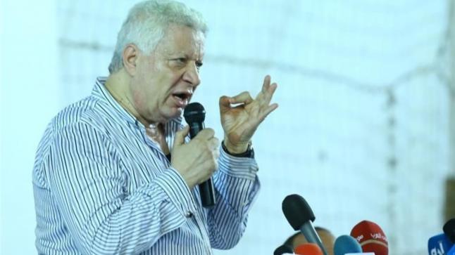 """مرتضى منصور يهاجم رموز الزمالك: """"شوية هواميش ملهومش قيمة"""""""